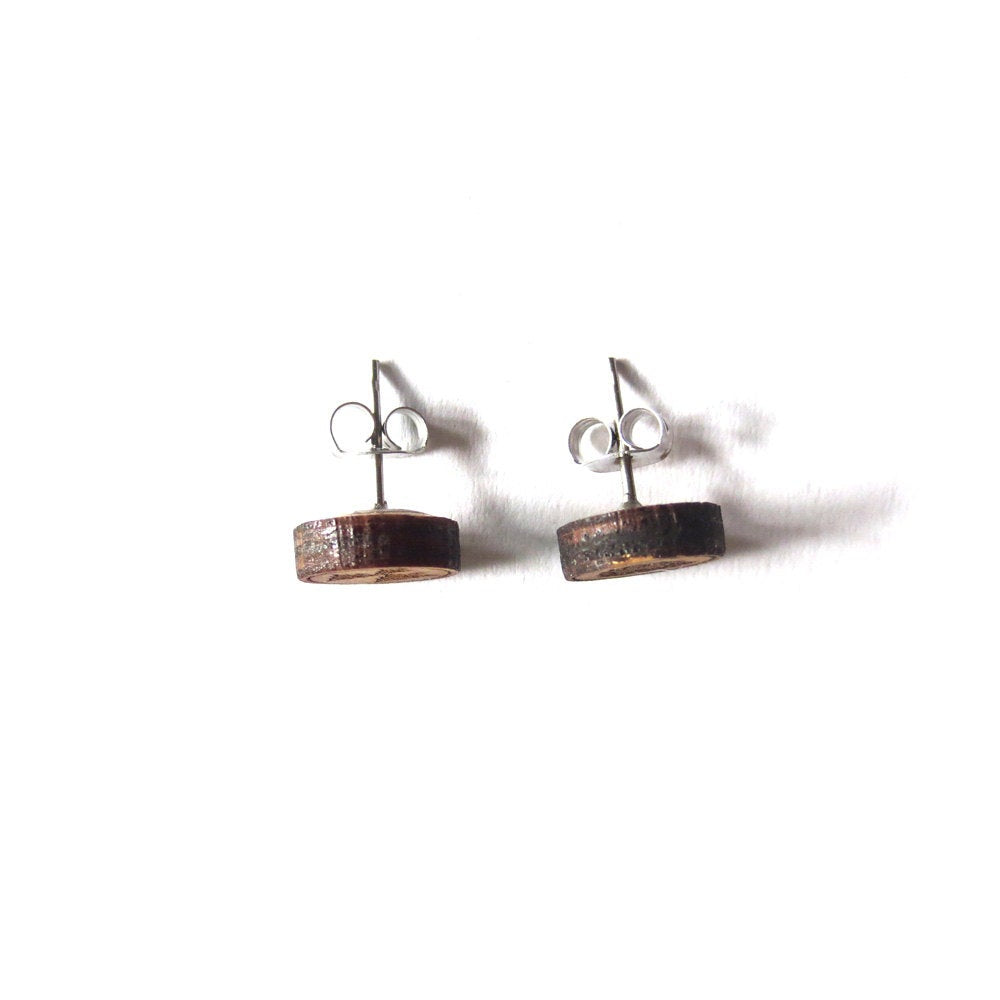 Canoe and Paddles Earrings