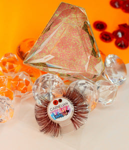 CARNELIAN - CAVE OF CRYSTALS LASH COLLECTION
