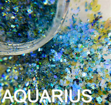 Load image into Gallery viewer, AQUARIUS COSMIC GLITTER