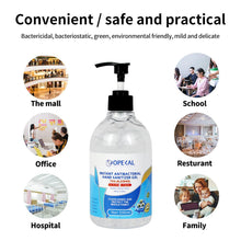 Load image into Gallery viewer, 4PCS 500ml Travel Portable Hand Sanitizer Gel Anti-Bacteria Moisturizing Liquid Disposable No Clean Waterless Antibacterial Hand Gel
