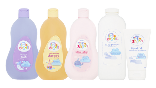 Asda Little Angels Baby Toiletries