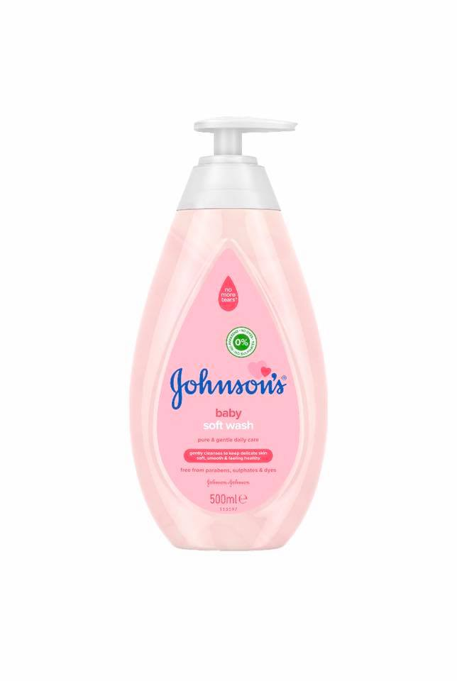 Johnson's Baby Soft wash 500ml