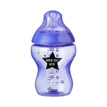 Load image into Gallery viewer, Tommee Tippee Closer to Nature Catch me Quick Baby Bottles 260ml - Blue