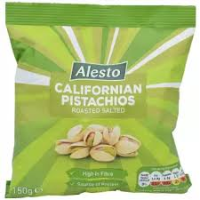 Alesto California Pistachios Roasted Salted - 150g