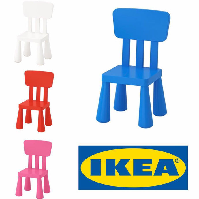 IKEA UK Mammoth chairs  Blue