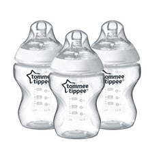 Load image into Gallery viewer, Tommee Tippee Closer to Nature 260ml Feeding Bottles 0m+