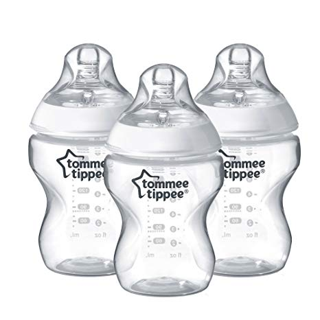 Tommee Tippee Closer to Nature 260ml Feeding Bottles 0m+