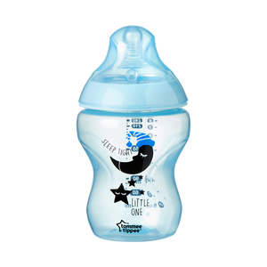Tommee Tippee Closer to Nature Catch me Quick Baby Bottles 260ml - Blue