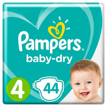 Load image into Gallery viewer, Pampers Baby-Dry Size 4 9-12kg Nappies Essential Pack
