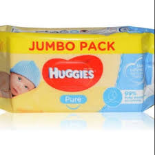 Huggies jumbo pack wipes