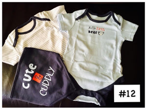 Asda GEORGE UK Bodysuits&Bib set #12