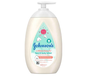 Johnson's Cottontouch™️ Face & Body Lotion 500ml