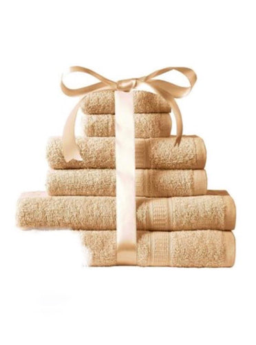 6- Piece Towel Bale - HONEY