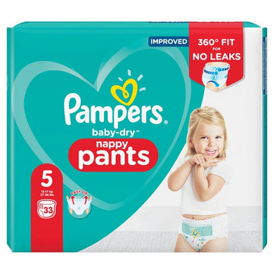 Pampers Baby-Dry Size 5 Pants (12-15kg)