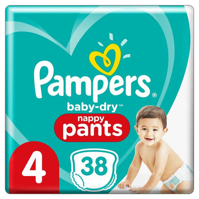 Pampers Baby-Dry Size 4 Pants (9-13kg)