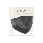 Mascarilla Lino+ Black Coal
