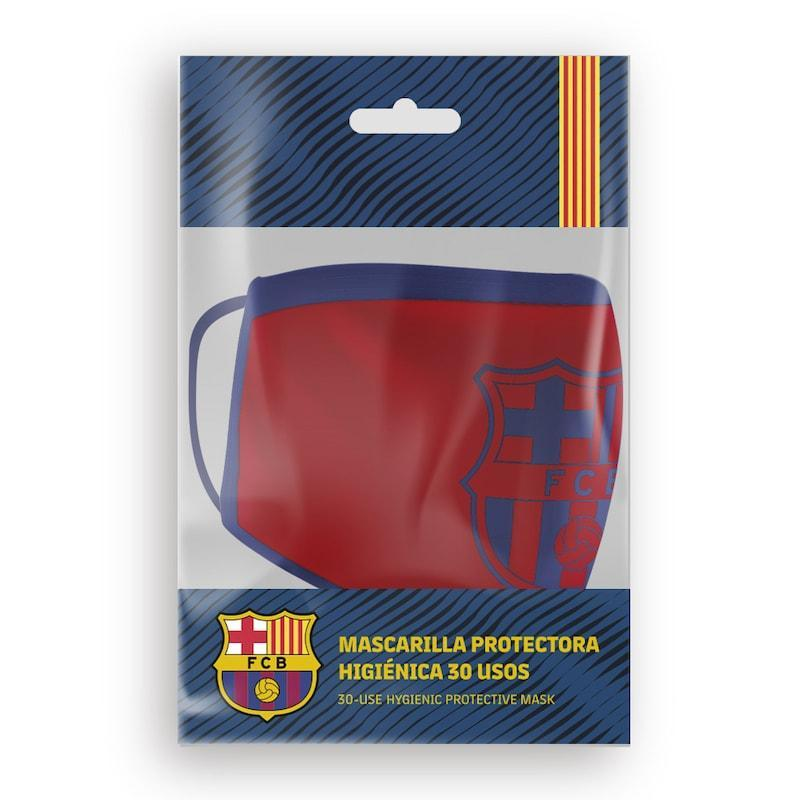 Mascarilla R30 FC Barcelona - Monochrome Red