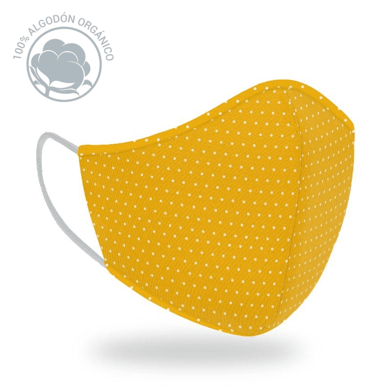 Mascarilla R40 Dots Yellow
