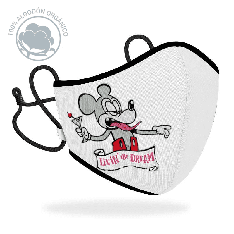 Mascarilla R40 Brandalised - Mouse