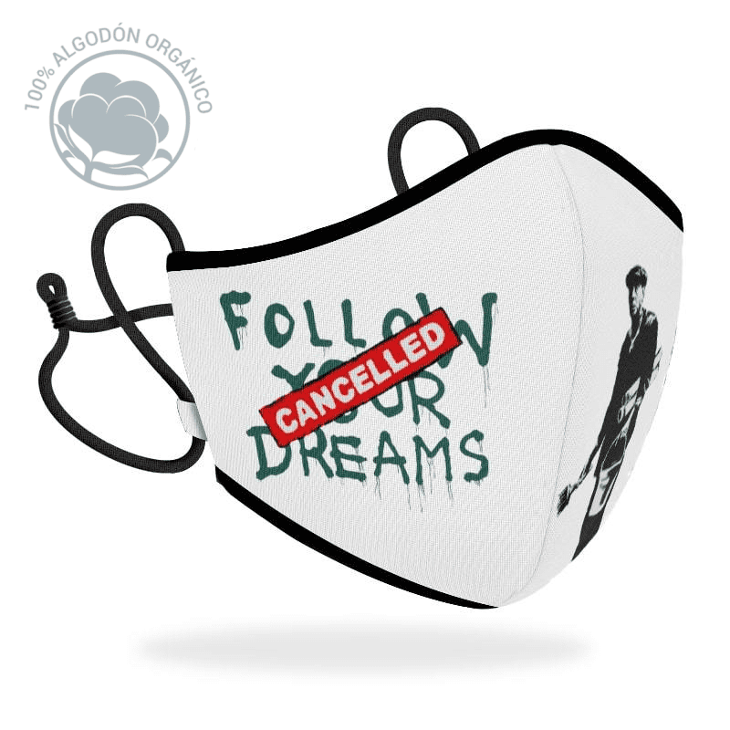 Mascarilla R40 Brandalised - Follow your dreams