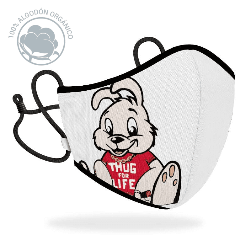 Mascarilla R40 Brandalised - Rabbit