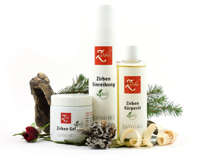 Zirben-Massage-Set