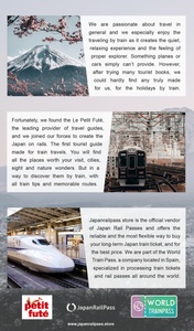 Japan On Rails - Tourist guide for train travelers (digital edition)