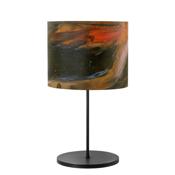 Lampshade AQUARELA black microtexture + custom shade
