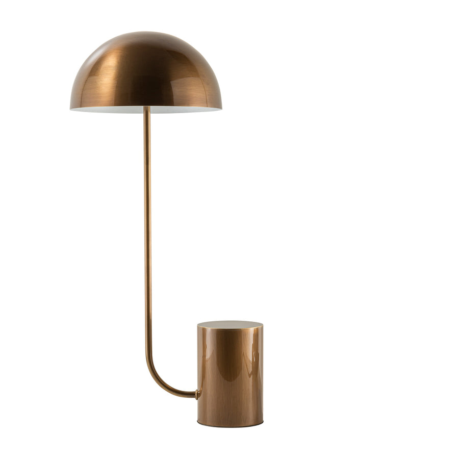 Lampshade COGUMELO M all shine oxidized brass (brown)