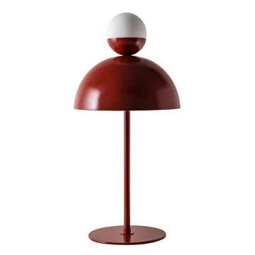 GUARDA CHUVA microtexture lampshade ruby