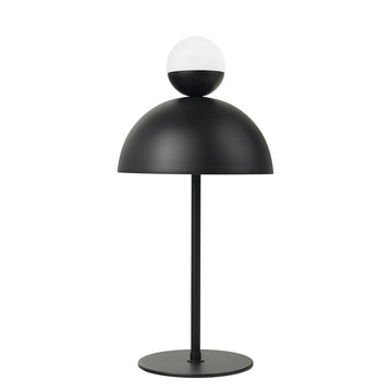 Lampshade GUARDA CHUVA black microtexture
