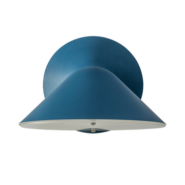 Wall light INVERSA deep blue microtexture