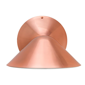 Wall light INVERSA polished copper