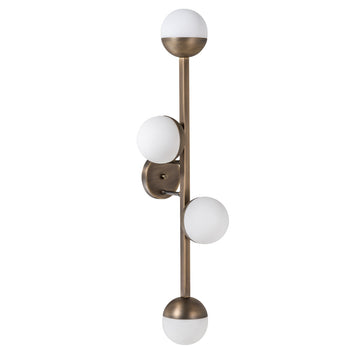 Wall light 04 JABUTICABA oxidized matte brass (grey)
