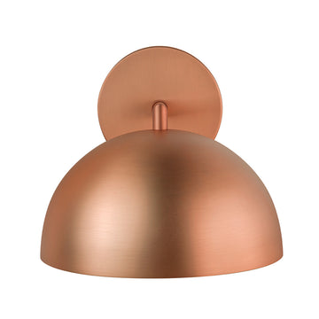 Wall light OCA brushed copper