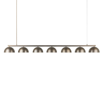 Pendant OCA linear 07 oxidized brass shades