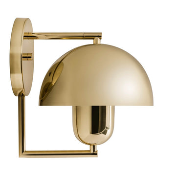 Wall light SATÉLITE polished brass