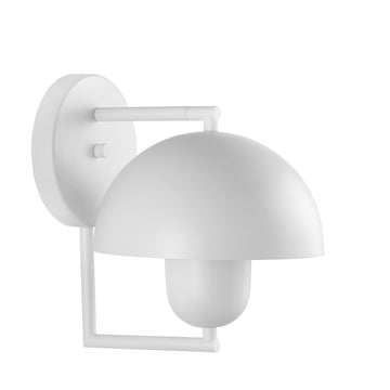 Wall light SATÉLITE white microtexture