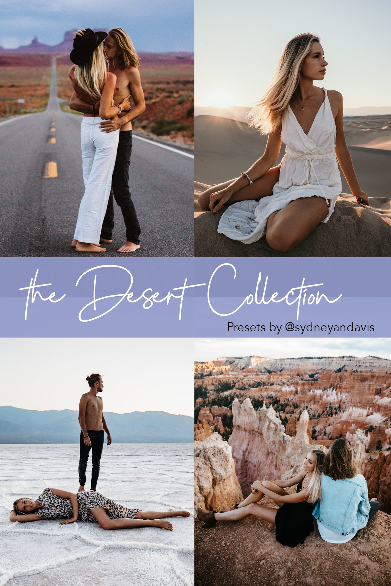 *NEW* The Desert Collection - 8 Desktop Presets