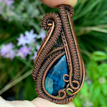 Load image into Gallery viewer, Azurite Mini Heady Pendant