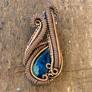 Azurite Mini Heady Pendant