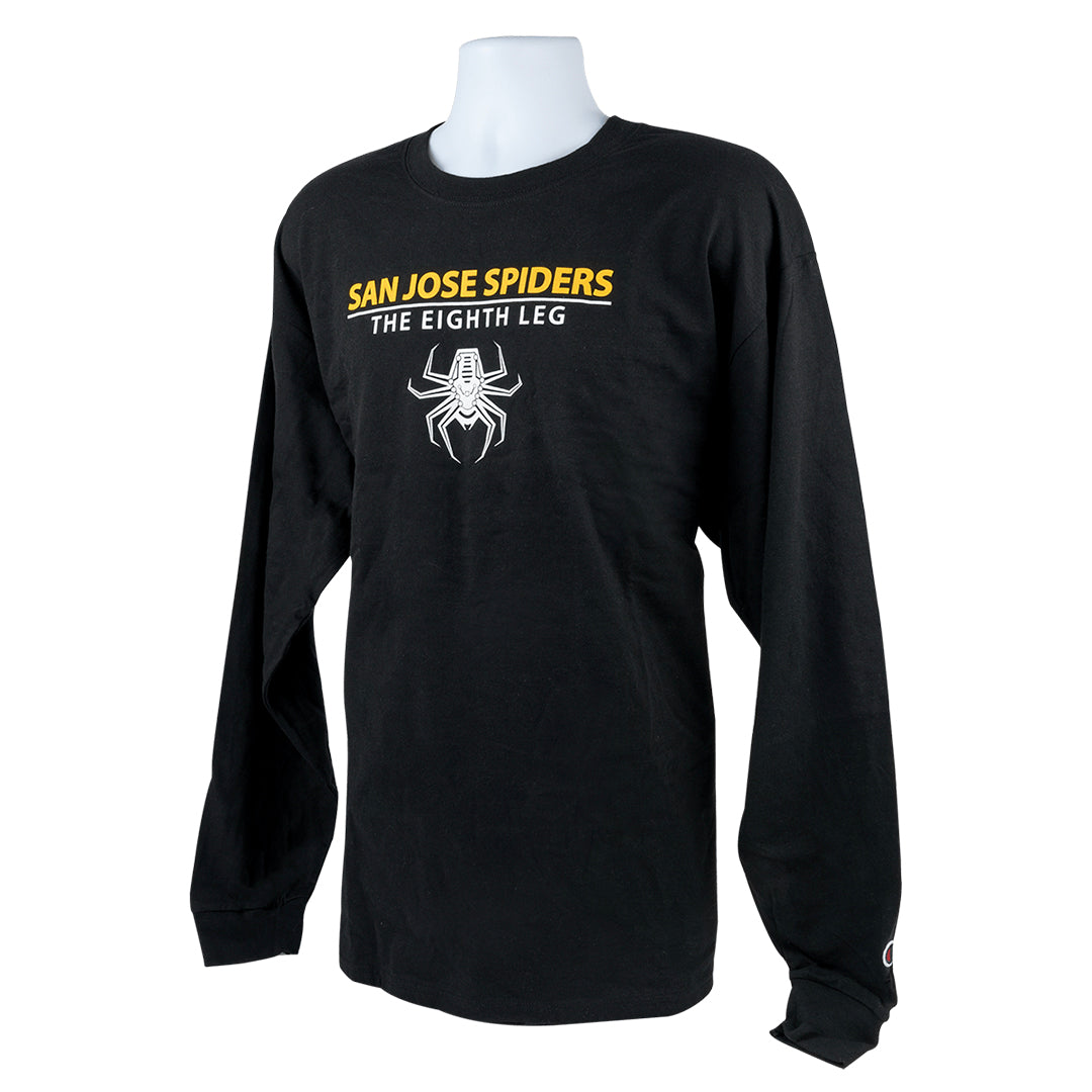 Spiders Black Long Sleeve