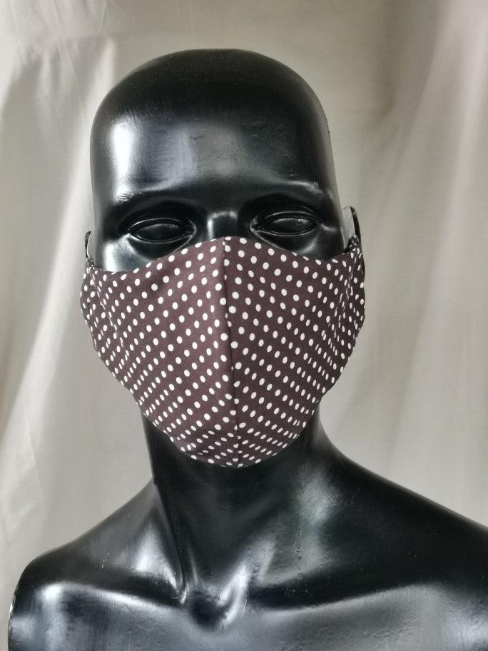 405 TYPE 2 Face mask - Brown Dot, Kids(S), adults sold out