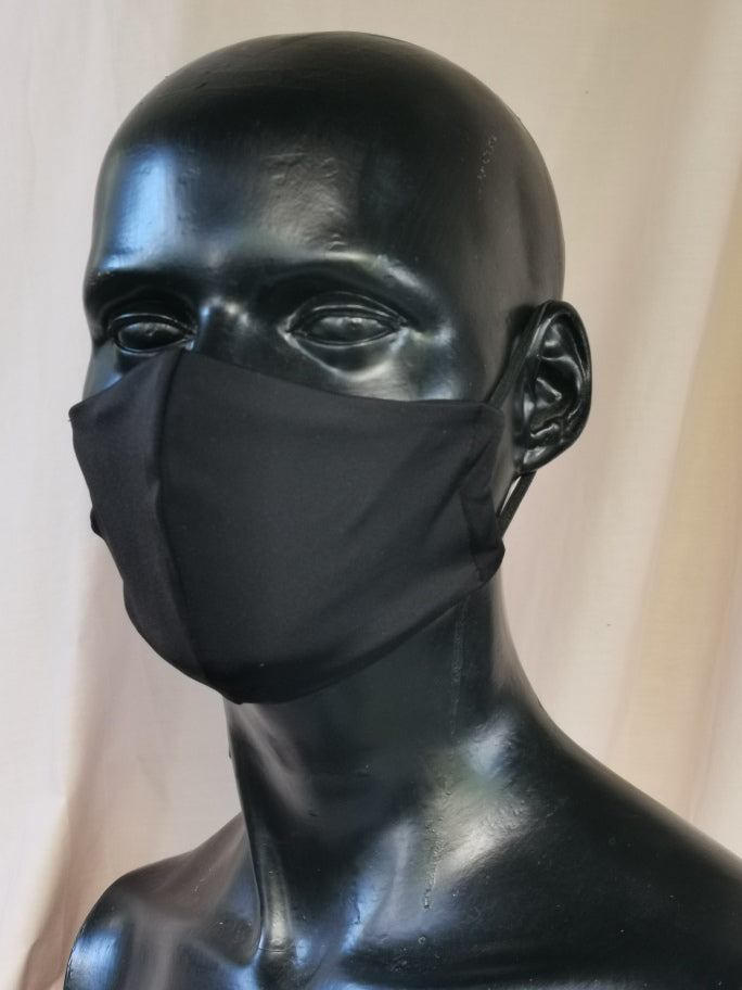 407 TYPE 3 Lycra Face mask - Black, Kids(S), Adult M & Large