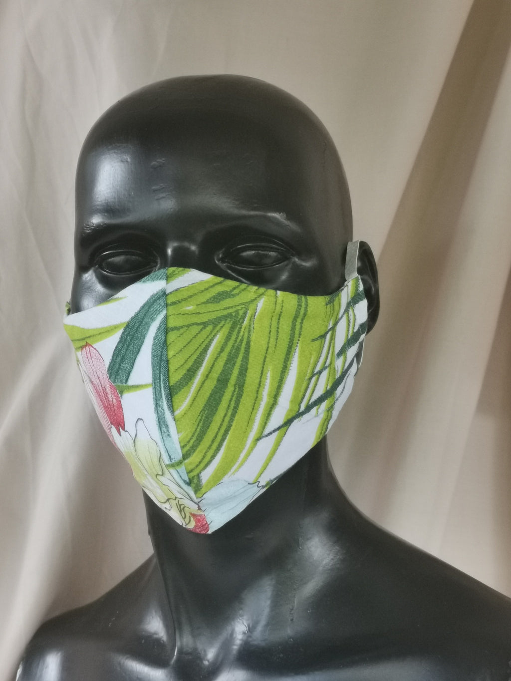 405 TYPE 2 Face mask - Palm Leaves, Adult Med & Large