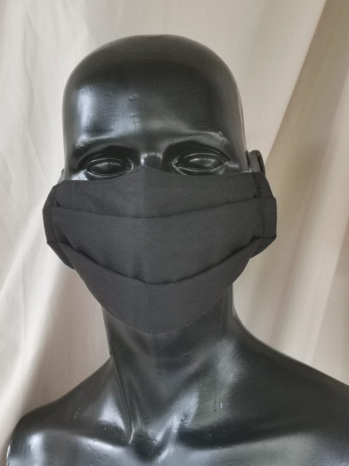 402 TYPE 1 Face mask - Black, Adult M Only