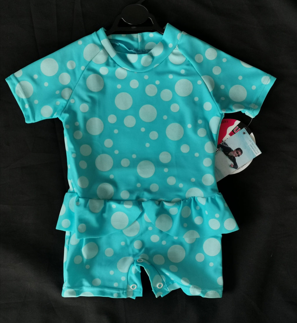 920 Baby Sunsuit, ALL Dotti- CLEARANCE