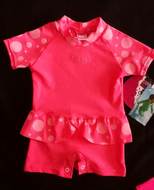 920 Baby Sunsuit, Dotti- CLEARANCE