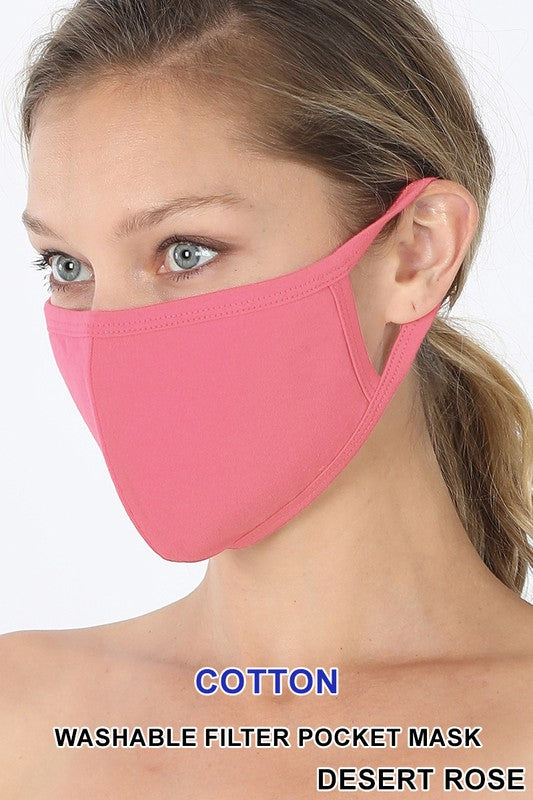 Washable Cotton Mask