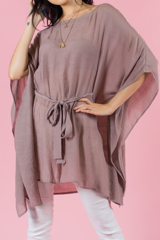 Tunic With Front Tie